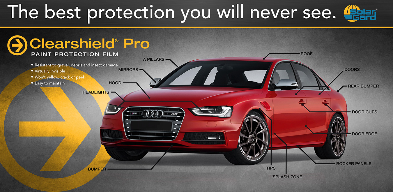 Paint Protection Film by Clearshield Pro